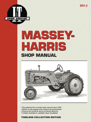 Massey Ferguson Shop Manual Models  20 22 30 44 55 81 82 Pony + (I&T Shop Manuals)