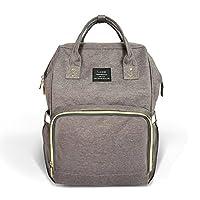 Huluwa Diaper Bag Multi-Function Waterproof Travel Backpack Nappy Bags for Ba...