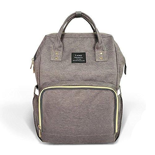 Huluwa Diaper Bag Multi-Function Waterproof Travel Backpack