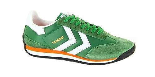 Colore E Hummel Sportive Per Scarpe Verde Donna Low Uomo Stadion waqf8H
