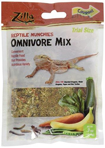 Zilla Omnivore Reptile Munchies Reptile Food.7 oz. ()