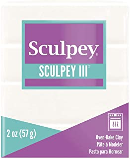 product image for Polyform S302-001 Sculpey-3 Polymer Clay, 2-Ounce, White