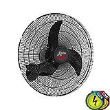 Oscilante Parede Super 65 cm Bivolt 160 Fios, Ventidelta, 756332, 230 W, Preto