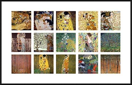 Alonline Art - Water Snakes Mother Embrace Collage 15 Gustav