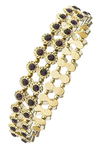 BAUBLES & CO CRYSTAL LINED DOUBLE ROW BRACELET (Crystal Double Row Bracelet)