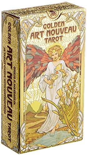 Golden Art Nouveau Tarot: 78 full colour cards with gold foil impressions & instructions (Tarot Cards) Cards – 25 Sept. 2019