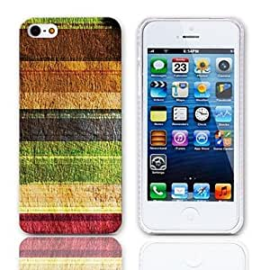 ZCL sold out Vintage Stripes Pattern Hard Case with 3-Pack Screen Protectors for iPhone 5/5S