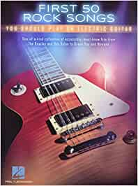 First 50 Rock Songs You Should Play On Electric Guitar: Amazon.es ...