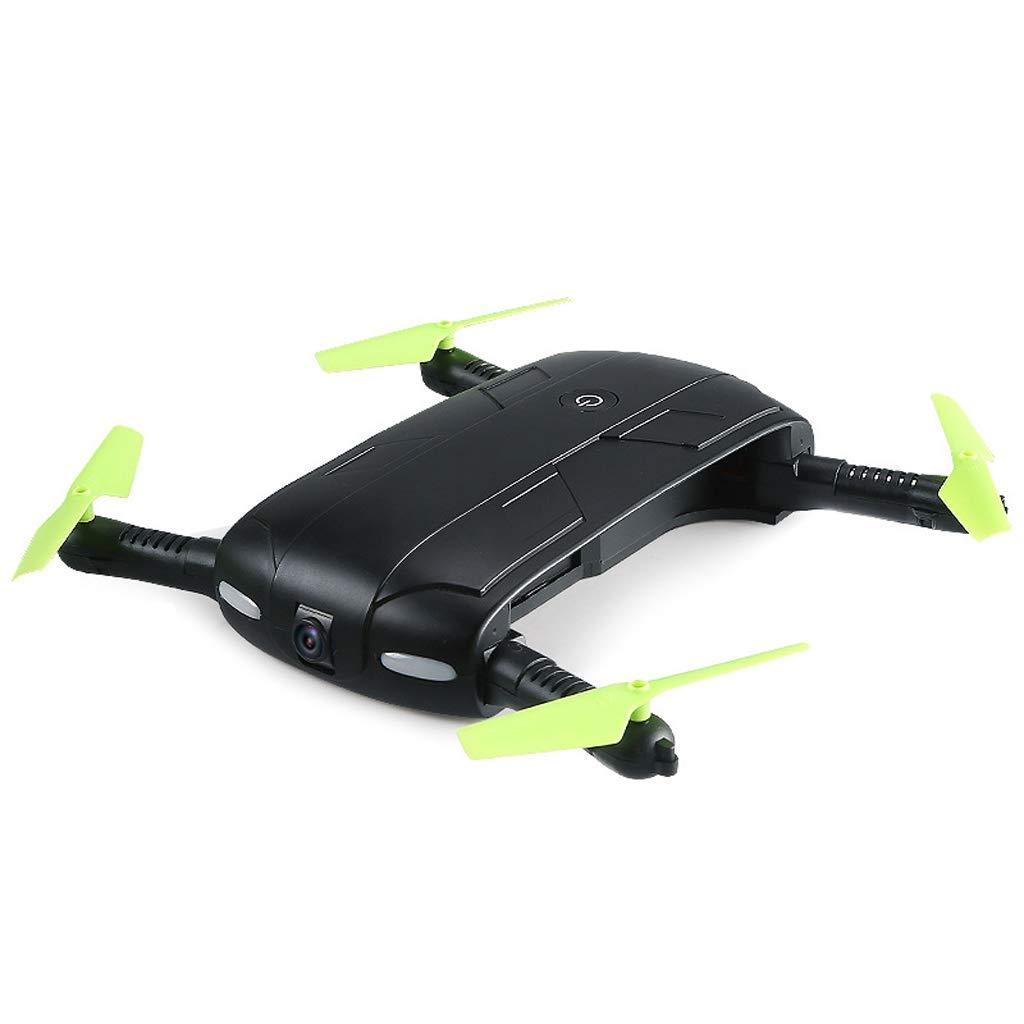 Cámara Drone HD Wi-Fi de 2,4 GHz Quadcopter para Principiantes de niños: Control de altitud, una tecla de Inicio, Brazos Plegables Negro
