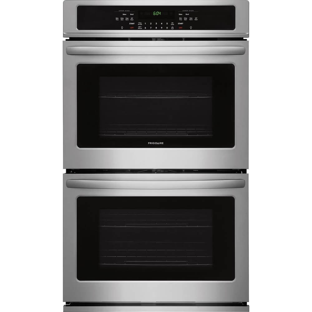 frigidaire electric double wall oven