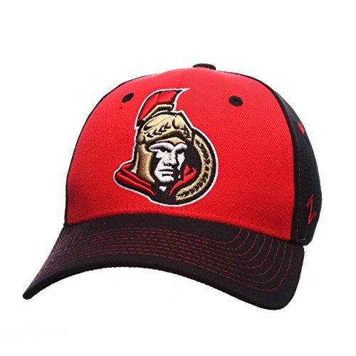 Zephyr NHL Ottawa Senators Men's Uppercut Hat, Large, Red
