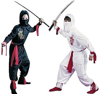 Fancy Me Niños 5 Piezas Blanco O Negro Ninja Día del Libro ...