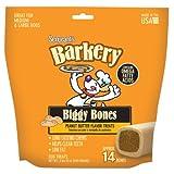 Barkery Biggy Bones Peanut Butter Flavor 42-Ounce, My Pet Supplies
