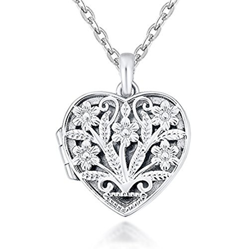 IXIQI 9ct gold plated Locket Neclace Heart Infinity Love Pendant Necklace Gifts For Women Ladies