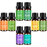 Aromatherapy-Top-8-Essential-OilsTASEYAR-Therapeutic-Grade-100-Pure-Scented-Oil-Mother-Day-Gift-SetFrankincenseLavenderEucalyptusLemongrassPeppermintSweet-OrangeTea-TreeRosemary10mlEach