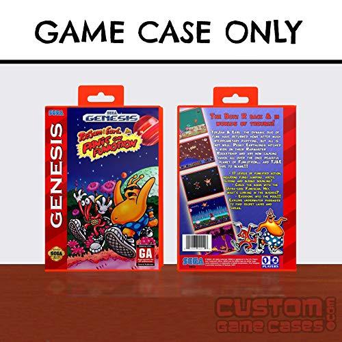 Sega Genesis ToeJam & Earl in Panic on Funkotron - Case