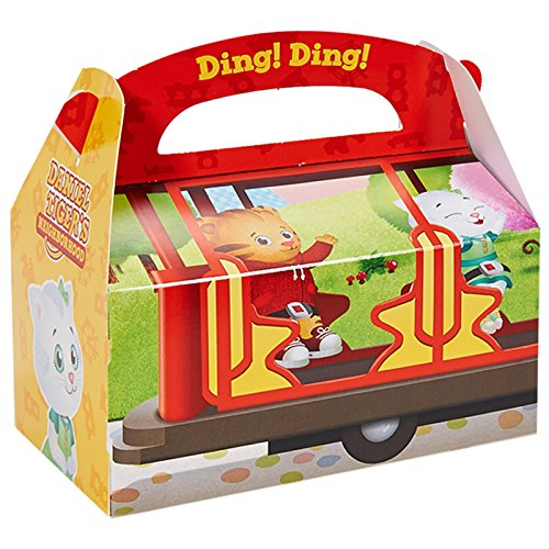 (BirthdayExpress Daniel Tiger Party Supplies 12 Pack Favor Box)