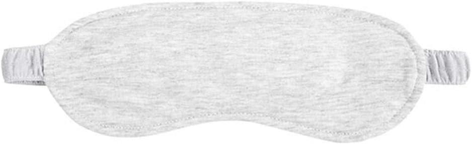 Mascarilla de algodón para dormir, doble cara, color gris claro ...