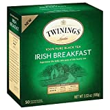 Twinings Irish Breakfast Black Bagged Tea, 100 Count