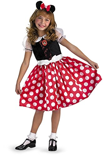 [Disney Minnie Mouse Classic - Size: 3T - 4T] (Fantasia Mickey Mouse Costume)