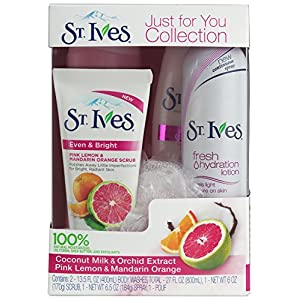 St. Ives Even and Bright Gift Box, Just For You Collection