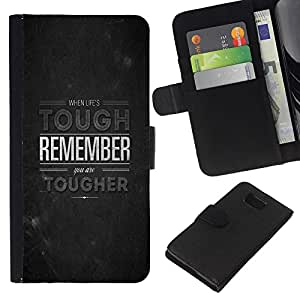 KingStore / Leather Etui en cuir / Samsung ALPHA G850 / Tough Recuerde inspirada Piedra Gris