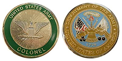 Army Colonel O6 Challenge Coin