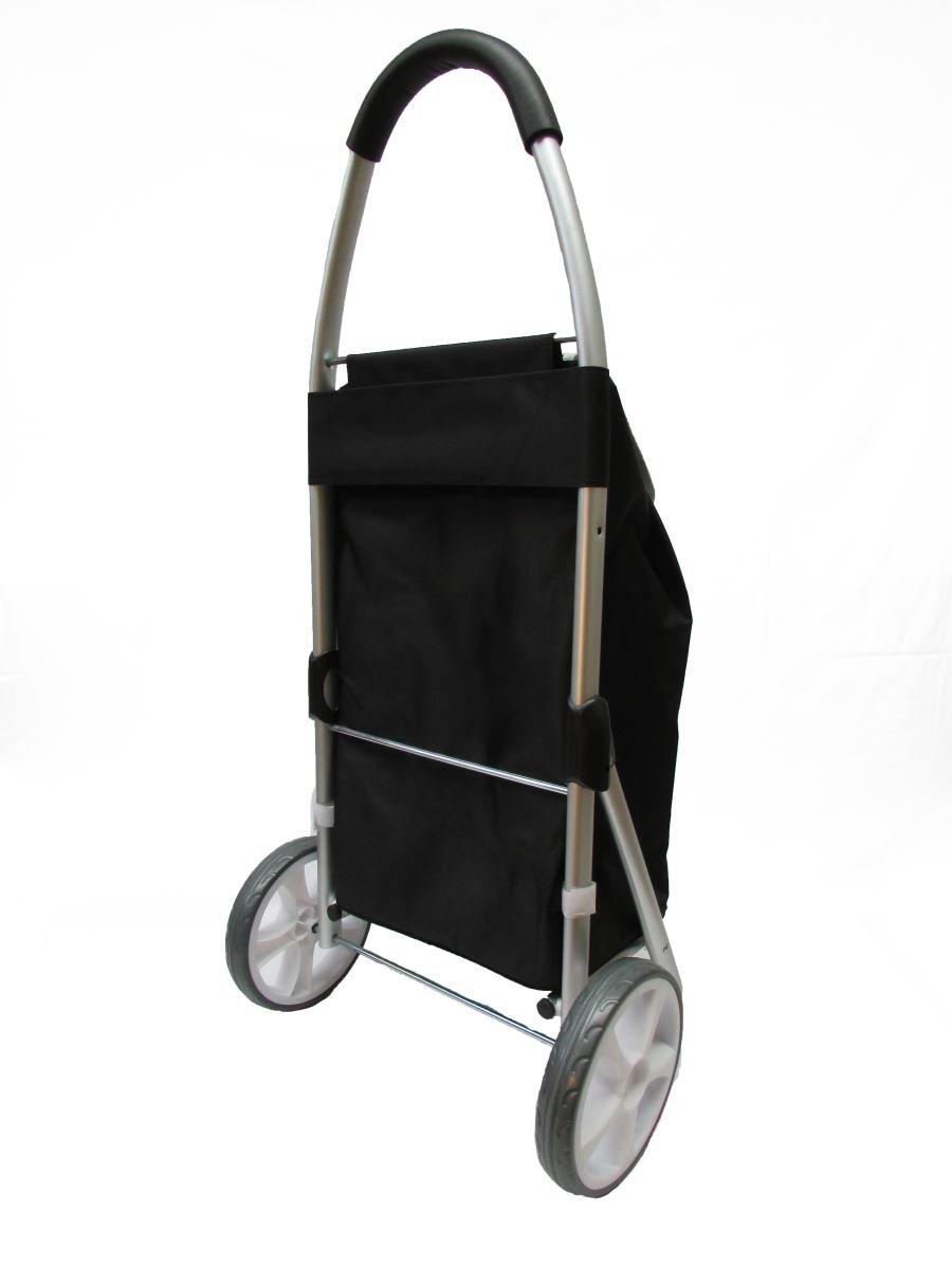 21694227993a GNA Heavy Duty Aluminum Shopping Trolley, Black: Amazon.ca: Office ...
