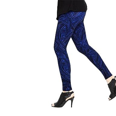 27eadcb451615a Lysse Women's Flocked Geo Ponte Legging Pants (Blueprint/Black, M) at Amazon  Women's Clothing store: