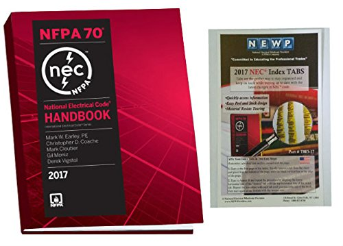 2018 Nec Handbook - NFPA 70: National Electrical Code (NEC) Handbook and Fast Tabs, 2017 Edition, Set