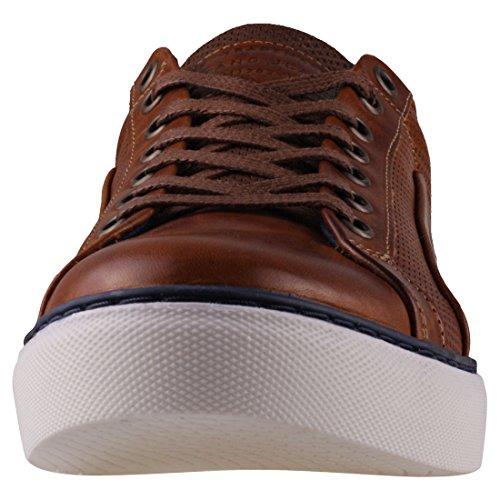 302 Mustang Cognac Baskets Hommes 4913 g5Tw5q1