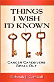 Things I Wish I'd Known, Deborah J. Cornwall, 0983618488
