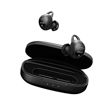 864e5fbecb8 ZOLO Liberty+ Total-Wireless Earphones, Bluetooth Earbuds with Graphene  Driver Technology and 50 Hours
