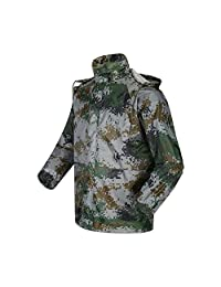 Spring fever Men's lightweight Rain Jacket And Pant Water Resistant Rain Suit