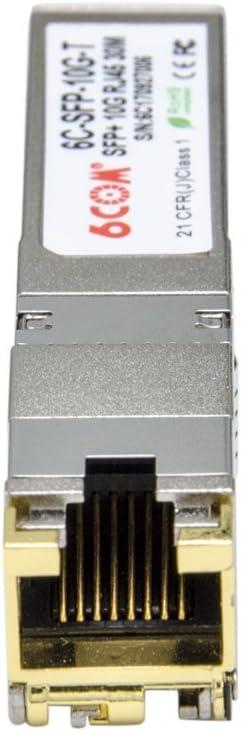 10GBase-SR Module for Arista SFP-10G-SR 6COM 10 Gigabit SFP DDM, 850nm, 300m LC Multi-Mode Transceiver Module