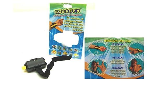 Flotador de emergencia aquarex de pulsera: Amazon.es: Deportes y aire libre