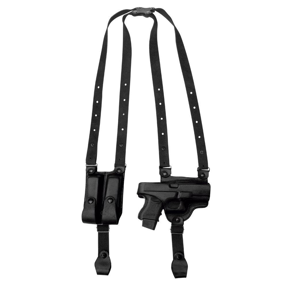 Tagua SH4-315 Full Slide Shoulder Holster, Glock 20, Black, Right Hand by Tagua (Image #1)
