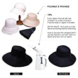 Summer Bill Flap Cap UPF 50+ Cotton Sun Hat with