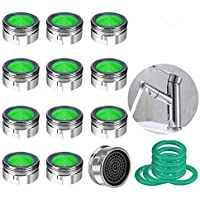KWODE 12 unidades Atomizador Ecológico de Agua con el Hilo Externo Atomizador Filtro de Cocina/Baño Grifo, Aireador…