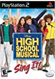 High School Musical: Sing it - PlayStation 2