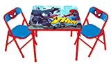 Spiderman Spider-Man Super Hero Adventures Activity Table Set with 2 Chairs Play Two, Spiderman