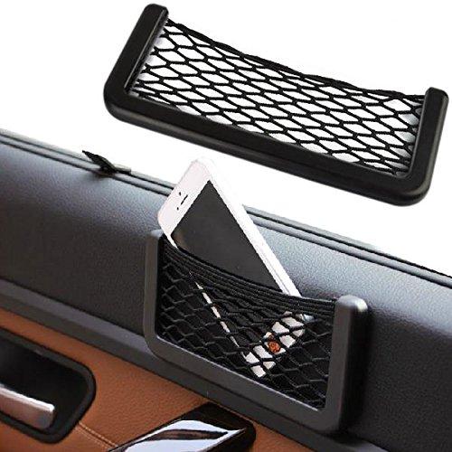 Lumensy Auto Kofferraum Lagerung Organizer Netz Tasche Elastische Aufbewahrungstasche
