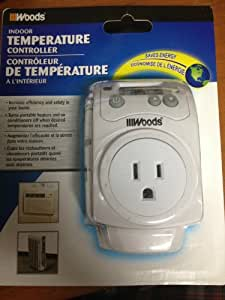 Indoor Temperature Controller for portable heaters/air conditioners