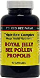 YS Organic Farms: Royal Jelly Bee Pollen Propolis w/Ginseng 90 ct