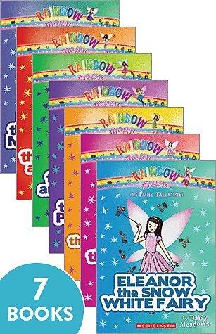 rainbow magic fairy tale fairies set of 7 paperback books by daisy (Fairy Tale Set)
