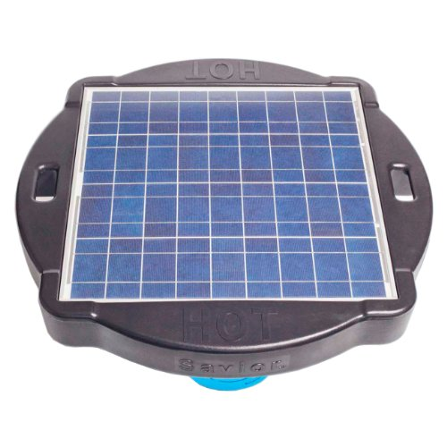 (Natural Current Water Products NCSIONGPMWP Savior Solar Powered Ionizer Pool Generator, 60-watt)