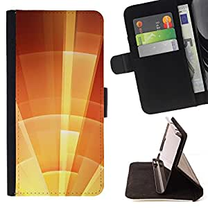 Momo Phone Case / Flip Funda de Cuero Case Cover - Protégez Ensoleillé d'Orange Summer - HTC DESIRE 816