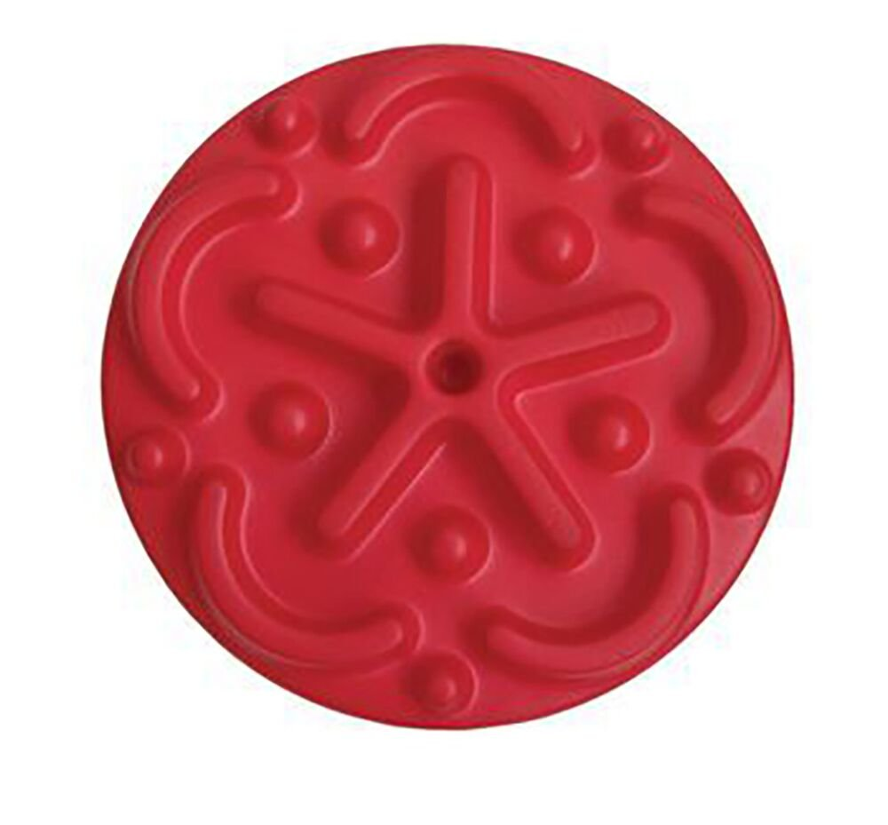 CanDo Progressive Instability Pads, Easy, Red