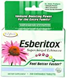 Enzymatic Therapy Esberitox Chewables (400 Chewable Tablets) Review