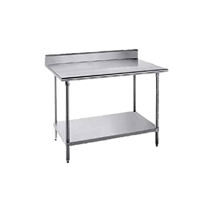 37 H x 30 W x 15 D Economy Filler Stainless Steel Top Workbench Size